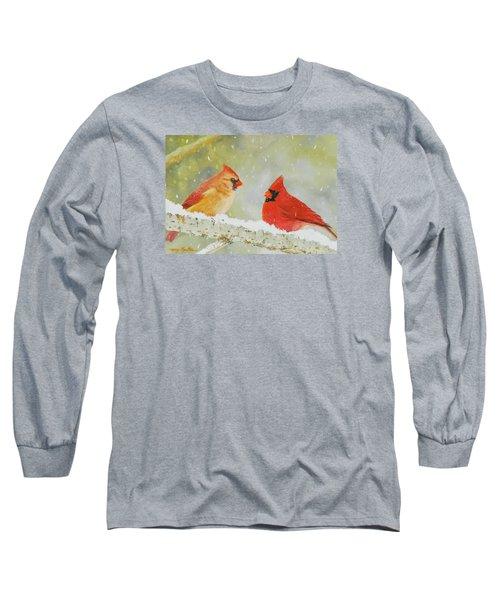 Northern Cardinals Long Sleeve T-Shirt