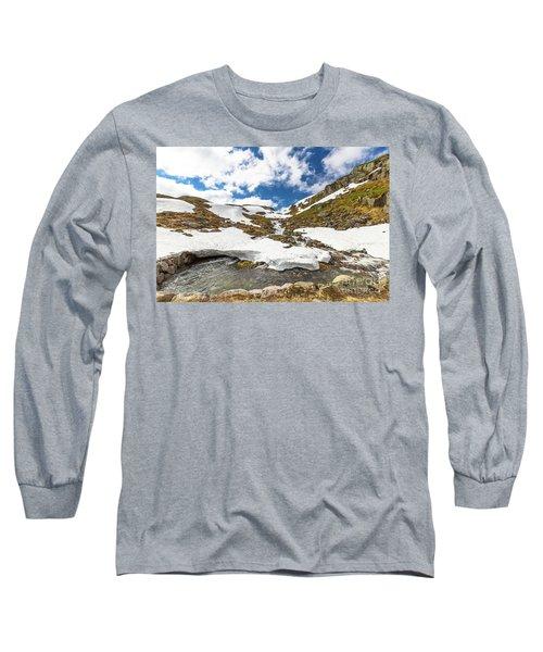 Norway Mountain Landscape Long Sleeve T-Shirt