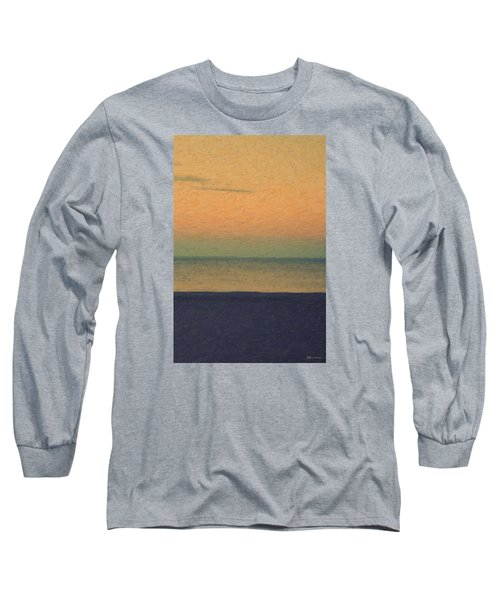 Not Quite Rothko - Breezy Twilight Long Sleeve T-Shirt by Serge Averbukh