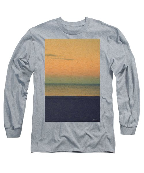 Not Quite Rothko - Breezy Twilight Long Sleeve T-Shirt