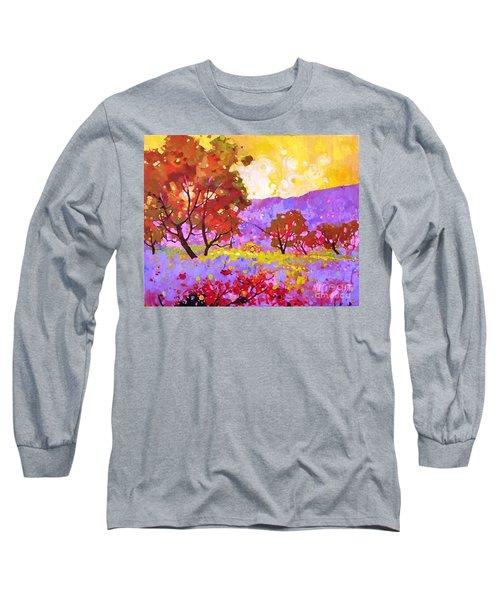 Oaks In Dream Long Sleeve T-Shirt