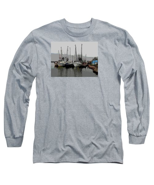 Long Sleeve T-Shirt featuring the photograph Off Season by Laura Ragland