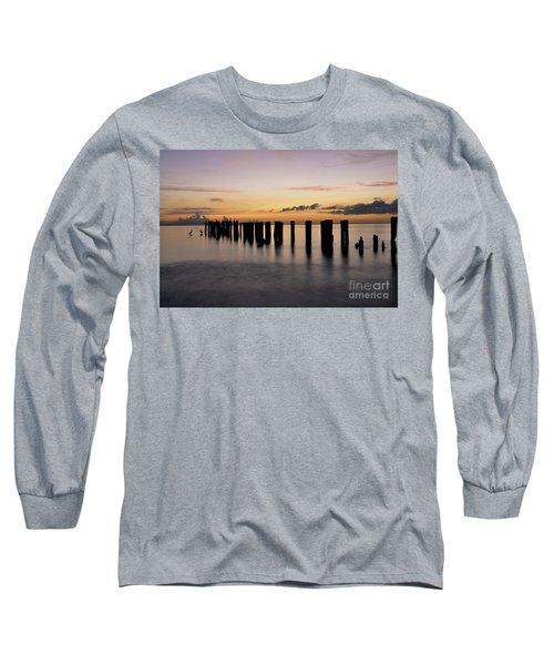 Old Naples Pier Long Sleeve T-Shirt