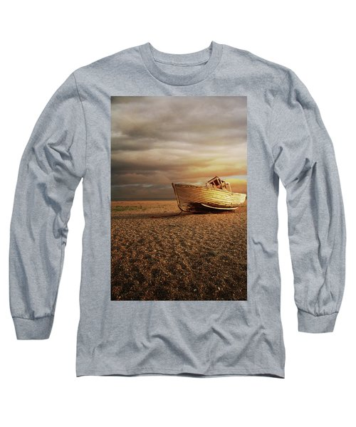 Old Wooden Boat Long Sleeve T-Shirt