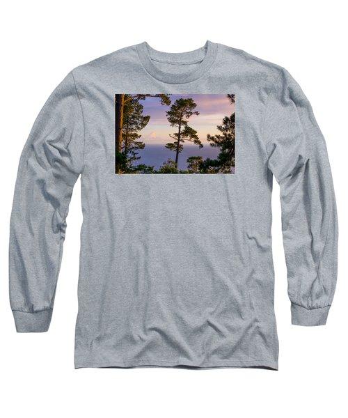 On The Edge Long Sleeve T-Shirt by Derek Dean
