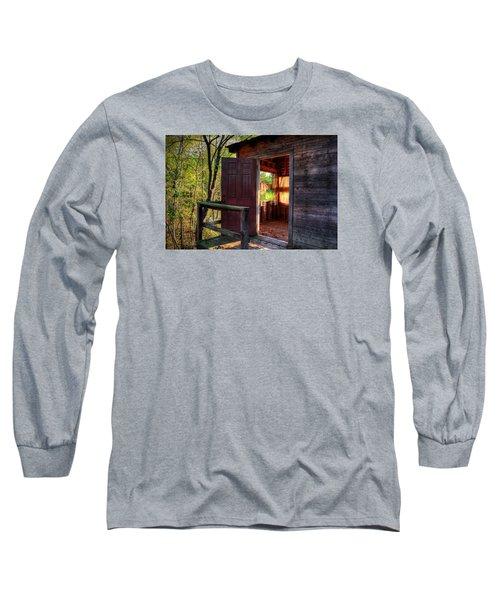 Open Door Long Sleeve T-Shirt by Ester  Rogers