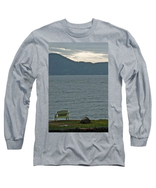 Orcas Island View Long Sleeve T-Shirt
