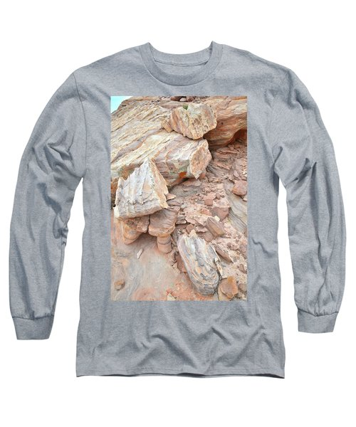 Long Sleeve T-Shirt featuring the photograph Ornate Sandstone In Valley Of Fire by Ray Mathis