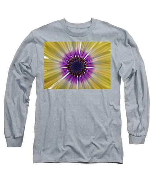 Osteospermum The Cape Daisy Long Sleeve T-Shirt by Shirley Mitchell