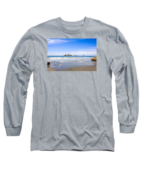 Pacific Coast California Long Sleeve T-Shirt by Chris Smith