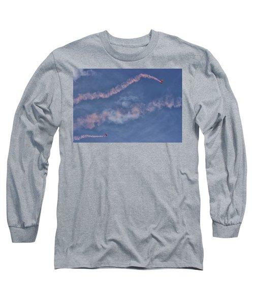Parachuting In Long Sleeve T-Shirt
