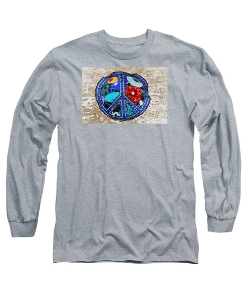 Long Sleeve T-Shirt featuring the photograph Peace  by Juls Adams
