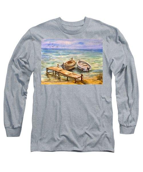 Peaceful Evening Long Sleeve T-Shirt