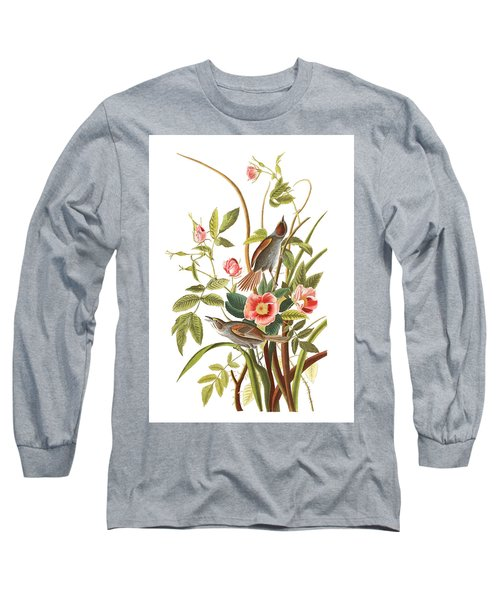 Long Sleeve T-Shirt featuring the photograph Pink Roses by Munir Alawi