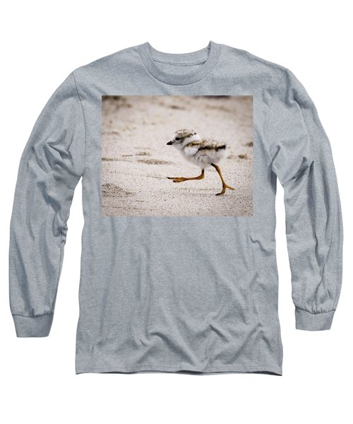 Piping Plover Chick Long Sleeve T-Shirt