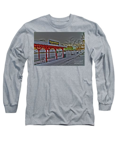 Pittsford Canal Park Long Sleeve T-Shirt
