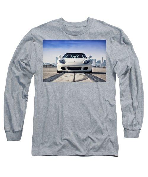 Long Sleeve T-Shirt featuring the photograph #porsche #carreragt by ItzKirb Photography