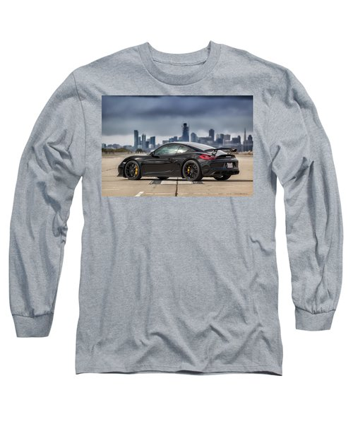 #porsche #cayman #gt4 Long Sleeve T-Shirt