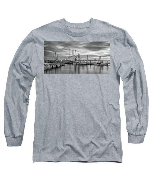 Port Royal Shrimp Boats Long Sleeve T-Shirt