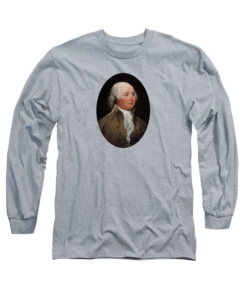 President John Adams Painting Long Sleeve T-Shirt