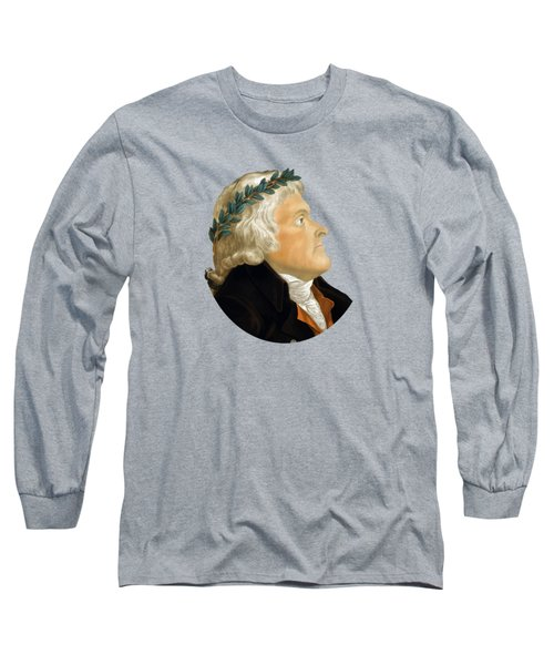 President Thomas Jefferson - Two Long Sleeve T-Shirt