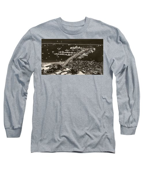 Provincetown  Long Sleeve T-Shirt by Raymond Earley