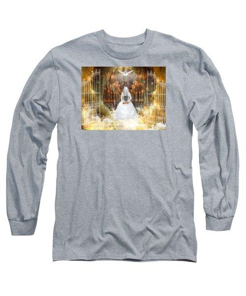 Pure Bride Long Sleeve T-Shirt by Dolores Develde
