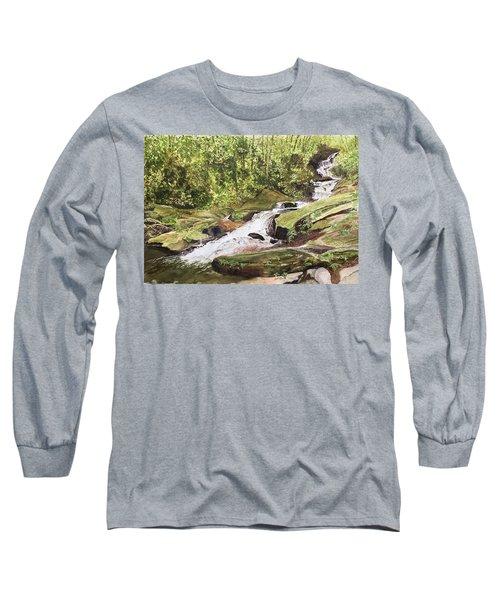 Roaring Fork Falls -- June 2017 Long Sleeve T-Shirt
