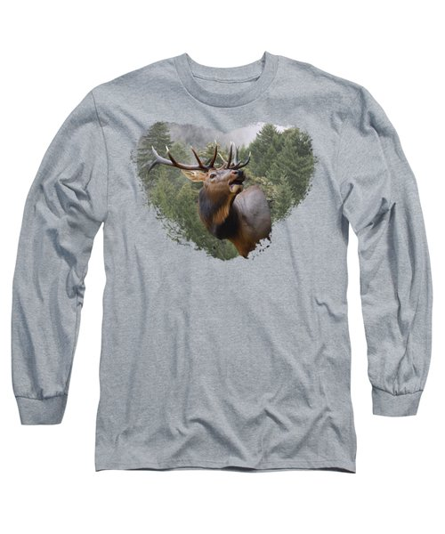 Long Sleeve T-Shirt featuring the photograph Rocky Mountain Elk by Jennifer Muller