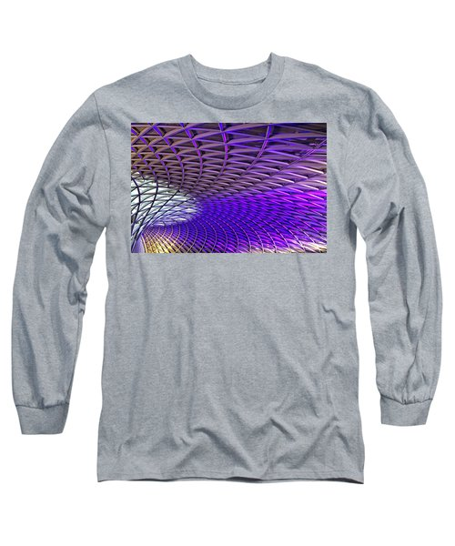 Roof Design Long Sleeve T-Shirt by Shirley Mitchell