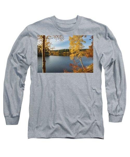 Saegemuellerteich, Harz Long Sleeve T-Shirt by Andreas Levi
