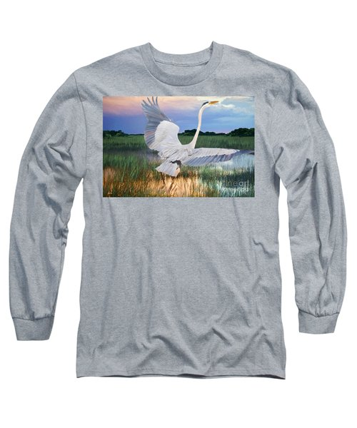 Sail Into Sunset Long Sleeve T-Shirt