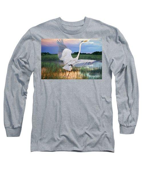 Sail Into Sunset Long Sleeve T-Shirt