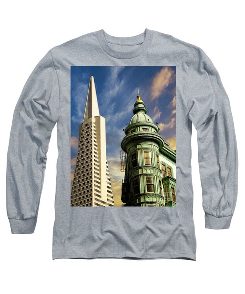 San Francisco Then And Now Long Sleeve T-Shirt