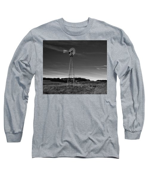 Santa Rosa Plateau Windmill Long Sleeve T-Shirt