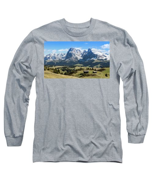 Sasso Lungo And Sasso Piatto Long Sleeve T-Shirt