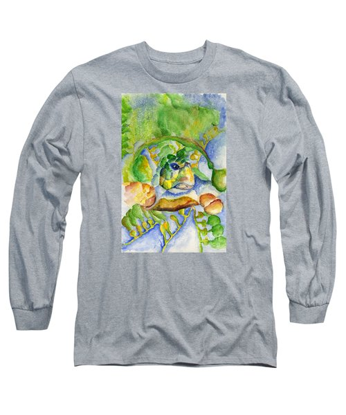 Sea Turtle Hideaway Long Sleeve T-Shirt