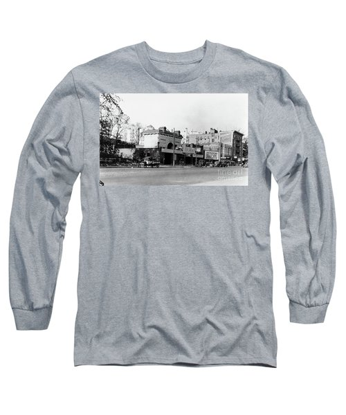 Long Sleeve T-Shirt featuring the photograph Seaman Drake Arch  by Cole Thompson