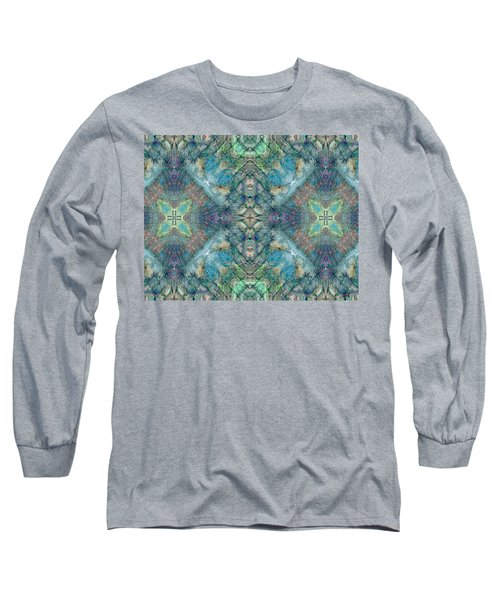 Seascape II Long Sleeve T-Shirt by Maria Watt
