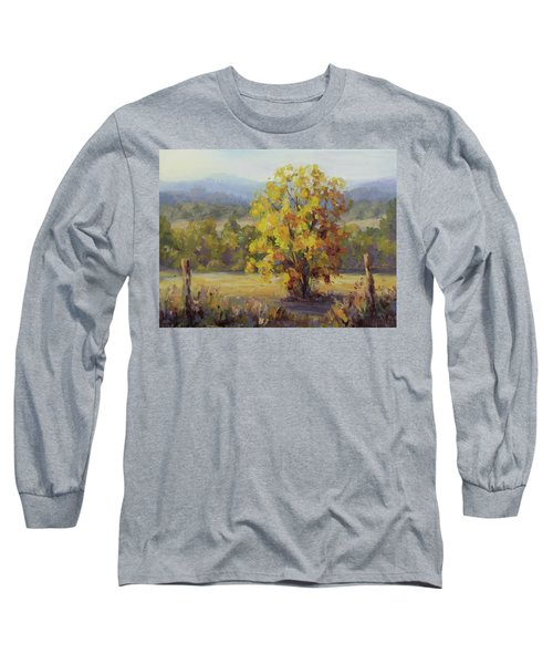 Shades Of Autumn Long Sleeve T-Shirt by Karen Ilari