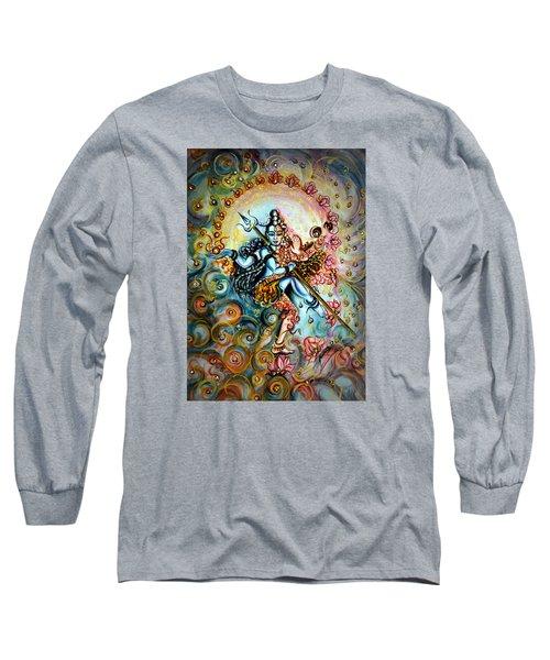 Shiva Shakti Long Sleeve T-Shirt by Harsh Malik