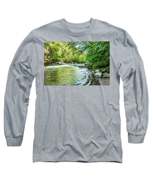 Slippery Rock Gorge - 1920 Long Sleeve T-Shirt