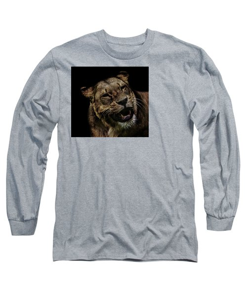 Smile Long Sleeve T-Shirt by Martin Newman