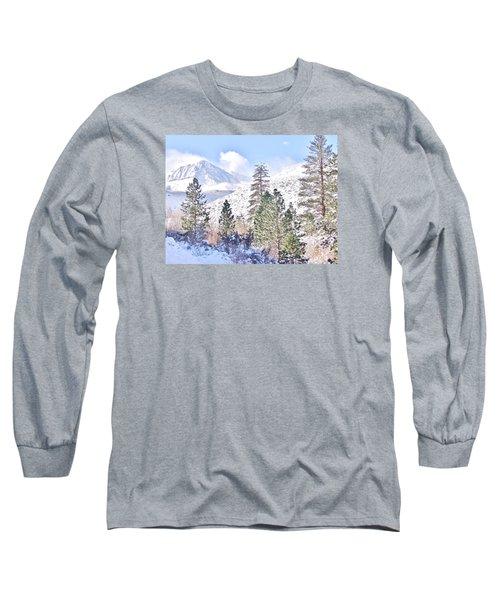 Canyon Snow Long Sleeve T-Shirt by Marilyn Diaz