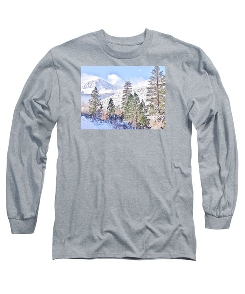 Canyon Snow Long Sleeve T-Shirt
