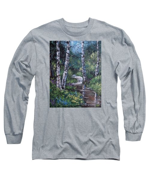 Solitude Long Sleeve T-Shirt by Megan Walsh