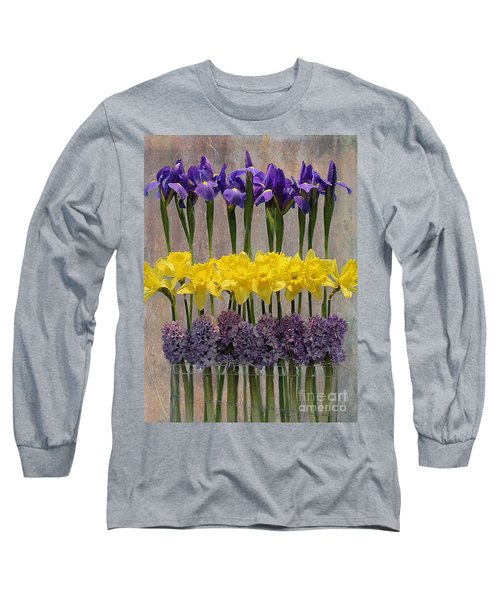 Spring Delights Long Sleeve T-Shirt by Nina Silver