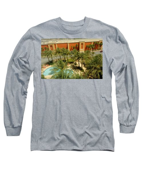 Staycation Upgrade Long Sleeve T-Shirt