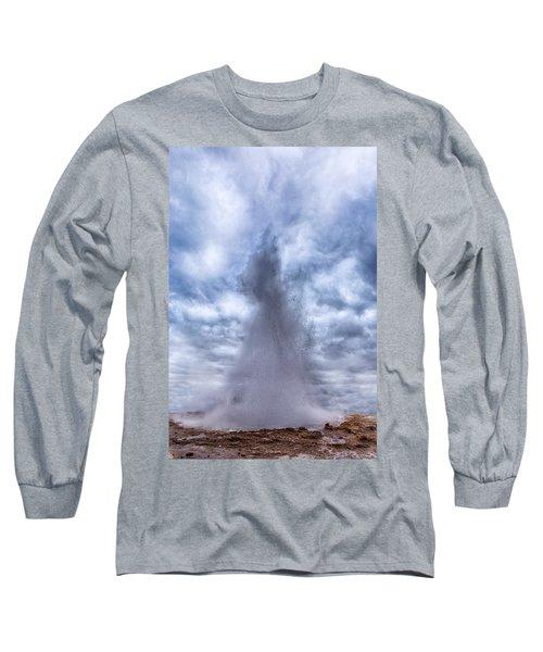 Strokkur - Iceland Long Sleeve T-Shirt