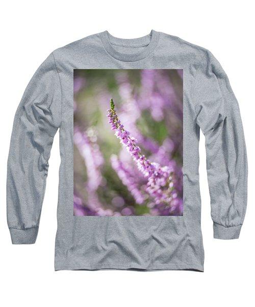 Summer Breezes Through The Heather Long Sleeve T-Shirt